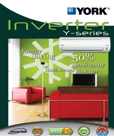 York Inverter Aircon